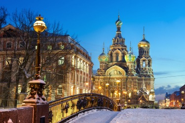 SNOWY STREETS, ST PETERSBURG, RUSSIA: Winter in St Petersburg is an assault on the senses. Breath turns into steam. Eyes ...