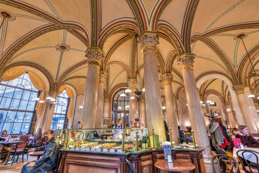 COSY CAFES, VIENNA, AUSTRIA: There's no better place to watch the world go by than a historical Viennese coffee house in ...