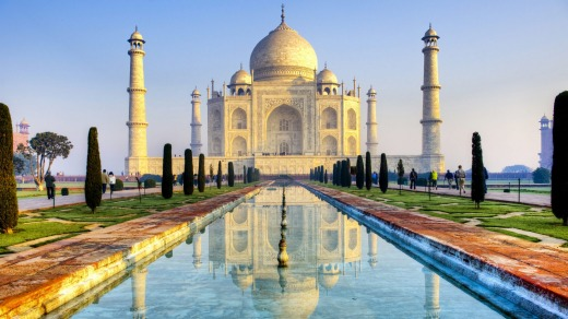 It's worth noting that the Taj Mahal is closed on Fridays.