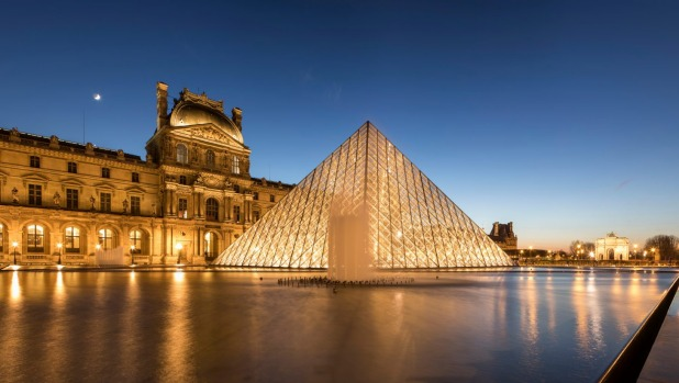 Paris' Louvre museum is closed on Tuesdays.
