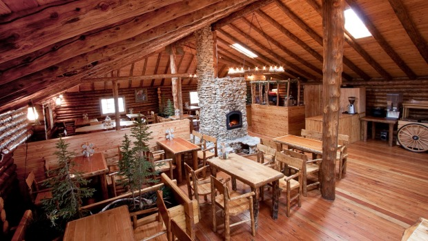 A hand-built labour of love, Lazy Bear Lodge is warm, cosy and completely unique.