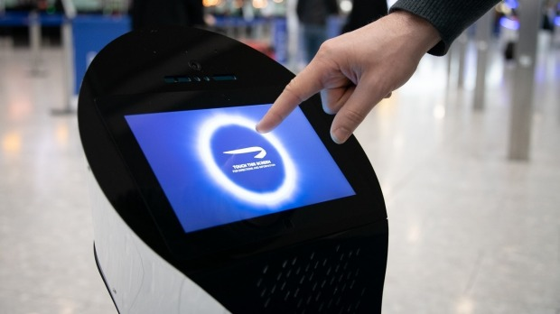 British Airways is trialling autonomous robots at Heathrow Airport to handled customer service queries.