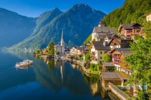 Hallstatt, Austria has been overrun by day tripping tourists.