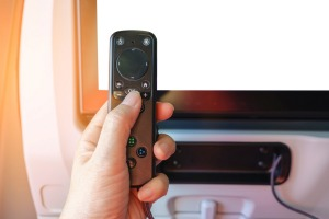 The button you always wanted for your inflight entertainment is coming.