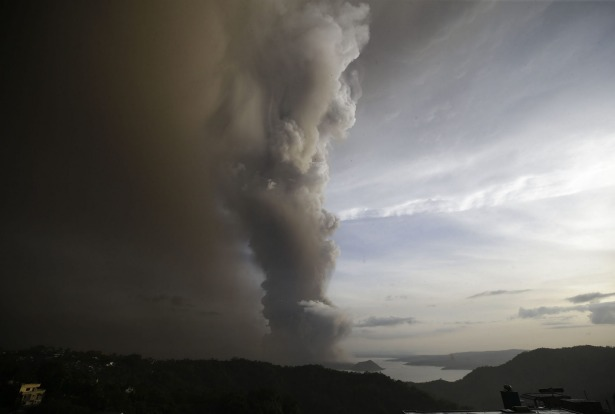 About 8000 residents of the volcano island and other high-risk towns were being evacuated, with about 6000 already out ...