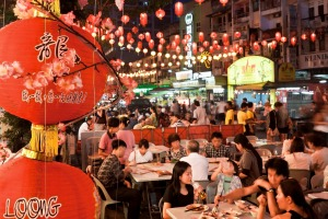 Jalan Alor is a popular spot for tourist and locals.