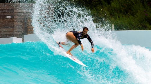 Open for daytime and night surfing under stadium-grade lighting, the park aims to open year round.