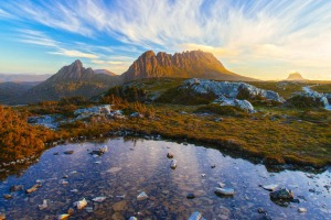 Unbeatable scenery: Cradle Mountain-Lake St Clair National Park.