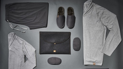 Emirates' first-class flyers get hydrating pyjamas, designed to release tiny beads of kelp while you sleep, gently ...