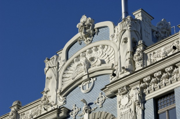 Mikhail Eisenstein: Where? Riga, Latvia: Several architects had their own take on art nouveau, but none were quite as ...