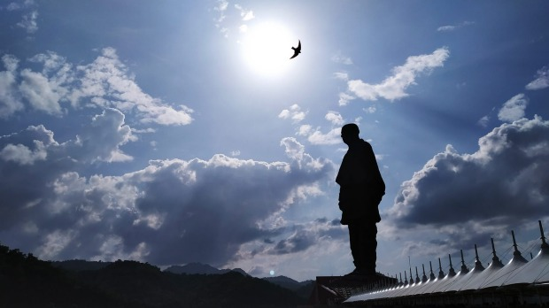 The statue of Unity - tallest statue in the world.