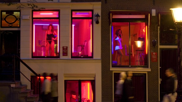 Sex workers in Amsterdam have had to rely on savings during the coronavirus lockdown.