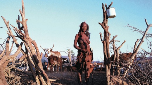 The Himba are so pastoral, they don't know their ages or how many they number and scratch out a resourceful existence in ...