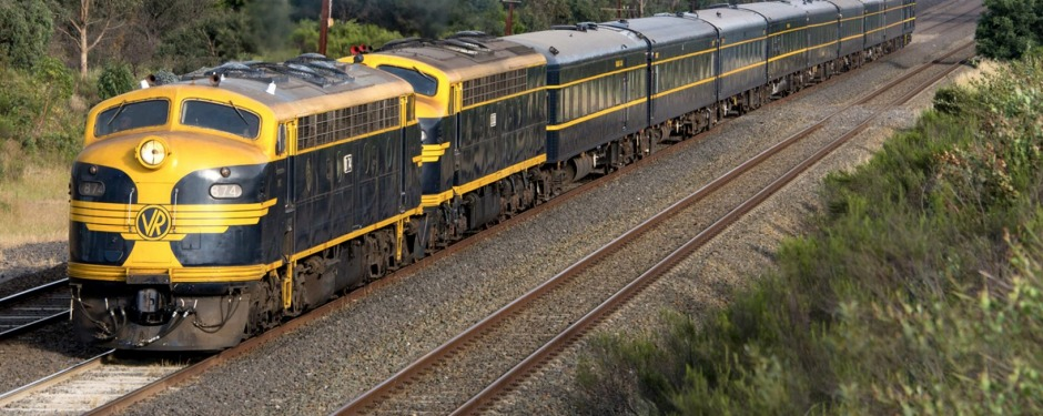 The train will make it's first journey in 33 years from Melbourne's Southern Cross station.