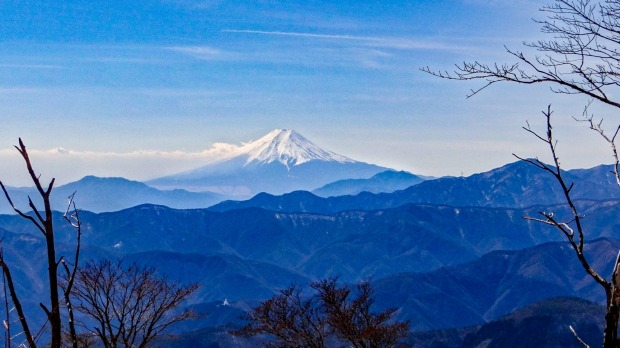 Mt.Fuji from Okutama.