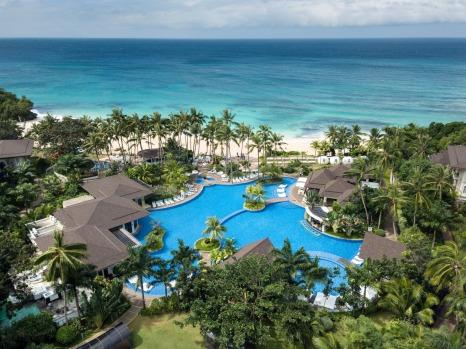 MOVENPICK RESORT BORACAY, STATION ZERO: Why name a hotel after an ice cream brand? In fact, Swiss founder Ueli Prager ...