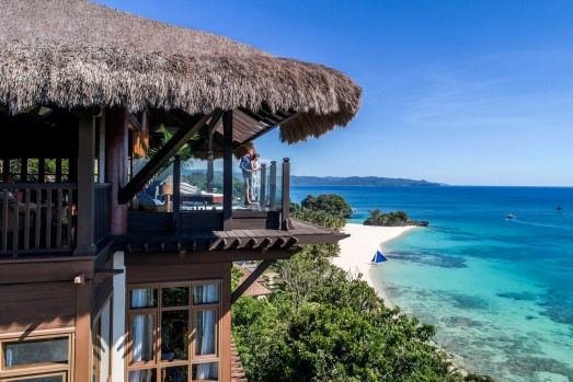 SHANGRI-LA BORACAY, STATION ZERO: Set in 12 hectares of tropical forest and focused on Banyugan beach, this is the ...