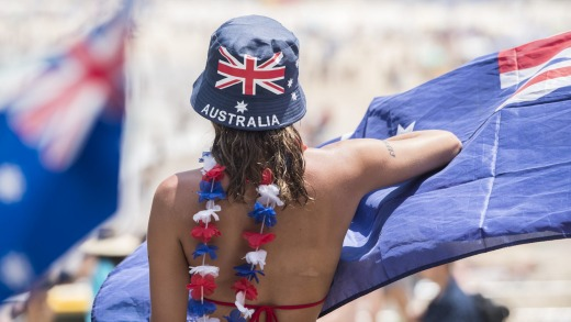 In Australia now you might be viewed with suspicion to say you love another country, as if this somehow means you ...