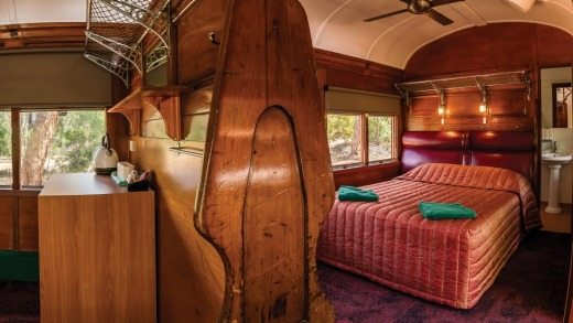 Railway carriage accommodation