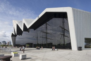 The Riverside Museum was formally the Transport Museum in Glasgow.