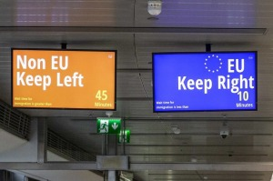 During the transition period, UK passport holders will still be able to pass through EU citizen immigration.