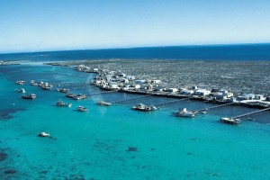 Coral Expeditions will circumnavigate Australia: Houtman Abrolhos Islands of the coast of Western Australia.
