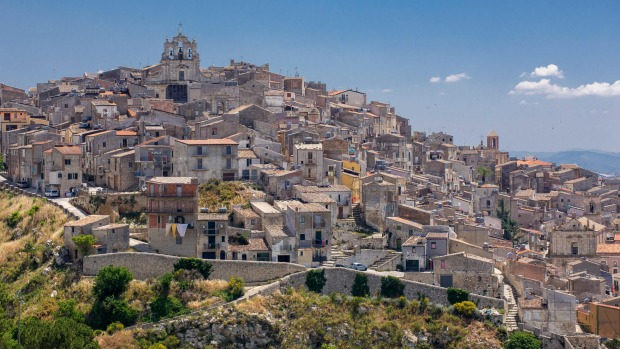 Mussomeli is one of numerous rural hamlets, villages and towns in Italy to have offered historic homes for sale in ...