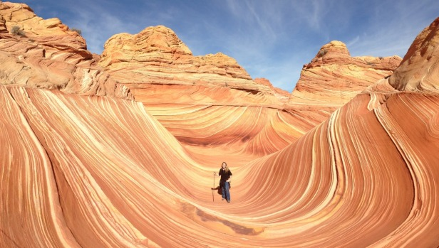The Wave is an internationally acclaimed wonder of the world secreted in the desert sands of the Paria Canyon-Vermilion ...
