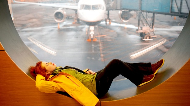 Show me an airport and I'll show you the best spot to get some shut-eye.