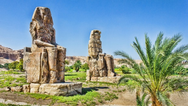 Colossi of Memnon, Valley of Kings.