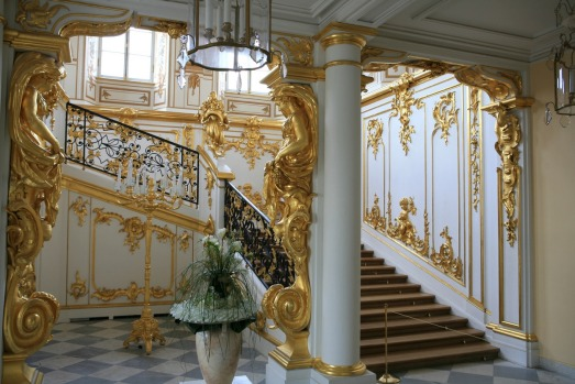 CATHERINE PALACE: This Romanov summer palace is a cream-filled, blue-icing, gilded cake. Built as a modest, two-storey ...