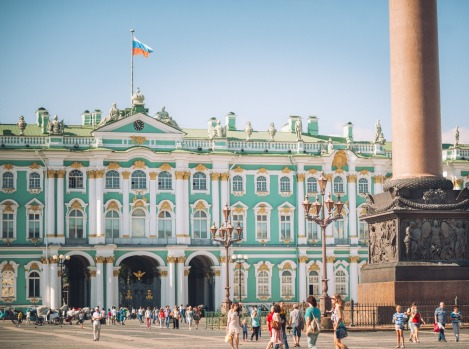 HERMITAGE MUSUEM: Go early, before the sea of tourists – 2.5 million annually – becomes a tidal wave. The Hermitage ...