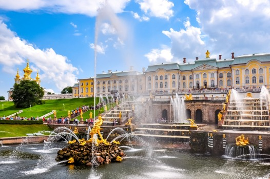 "PETERHOF PALACE, PARK AND GARDENS: This ""Russian Versailles"" is Peter the Great's tribute to his passion – water. The ..."