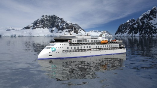 Aurora Expeditions ship Sylvia Earle.