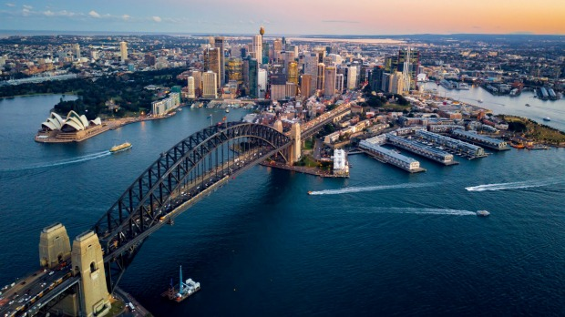 Magnificent: Flying over Sydney Harbour is a highlight for visitors ... and should be for locals, too.