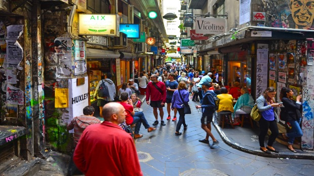 Melbourne laneways: Melbourne did it first and they're awesome.