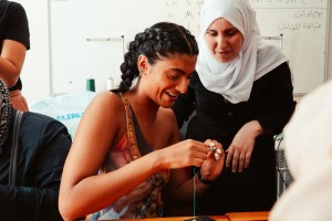 Meeting Syrian refugee women in Istanbul.