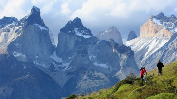 The majestic views of  Patagonia.