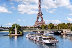Viking has built four ships specifically to sail on the Seine in France.