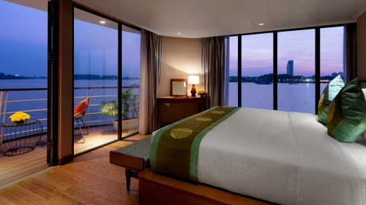 A suite on Victoria Mekong.