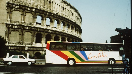 Children of the '80s who wanted to see Europe did so on a Contiki bus tour.