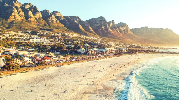 South Africa, a destination worth adding to your travel list. Pictured, Camps Bay in Cape Town.