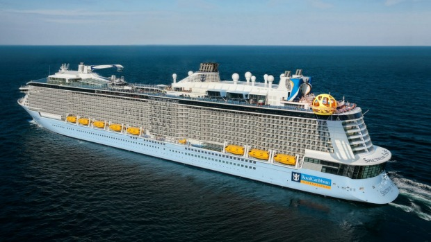 Spectrum of the Seas is a billion-dollar cruise giant capable of carrying up to 5622 passengers.