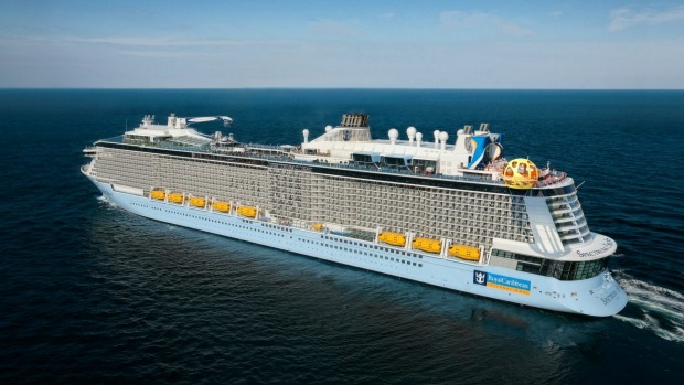 Royal Caribbean's Spectrum of the Seas.