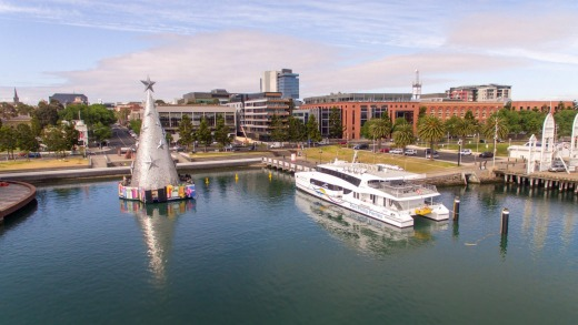 Visitors can take the Geelong Flyer from Melbourne CBD to downtown Geelong.