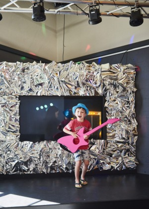 Interactive play: Museum of Play and Art allows kids to express their creativity.