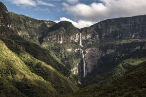 Gocta Waterfall is the world's third-tallest.