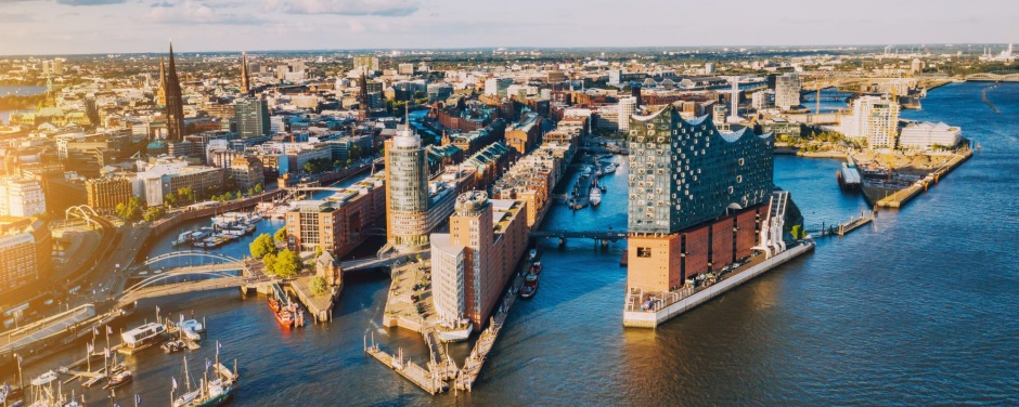 Hafencity, in Hamburg, is transforming a decaying district into a sleek assembly of offices, apartments and repurposed ...