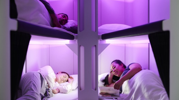 The Skynest bunk bed concept.