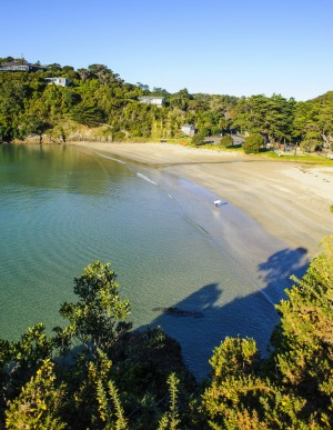 Pretty Waiheke Island is a short ferry trip from Auckland.
